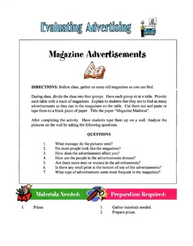 Evaluating Ads Lesson