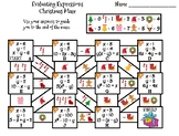 Evaluating Algebraic Expressions Activity: Christmas Math Maze