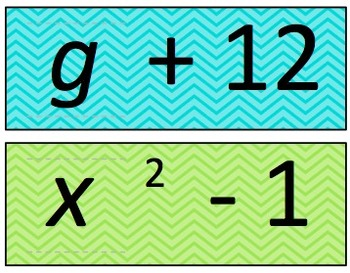Evaluating Algebraic Expressions Interactive Sliders