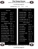 College Edition: Evaluating Algebraic Expressions: Restaurant Menu Task