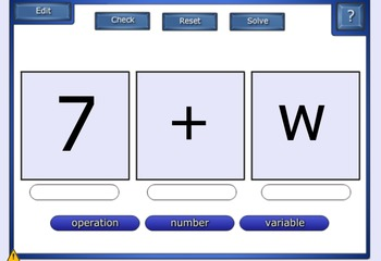 Evaluating Algebraic Expressions Smart Notebook