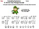 Evaluating Algebraic Expressions St Patrick's Day Math Activity: Message Decoder