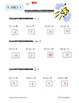 Evaluating Algebraic Expressions Worksheet