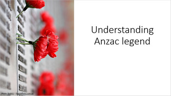 Evaluating Anzac Myth and Legend - comprehensive resources