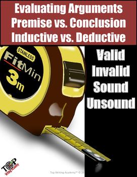 Argument Analysis Inductive Deductive Premise Claim