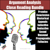 Argument Evaluation & Analysis Unit Critical Thinking Exercises