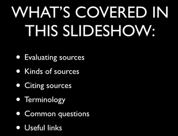 Evaluating & Citing Sources, Avoiding Plagiarism Tutorial