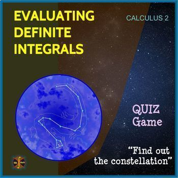 """Calculus Integration : DEFINITE INTEGRALS -Multiple Choice Game """"Find out Draco"""""""