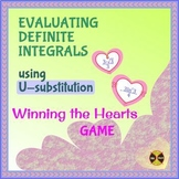Evaluating Integrals using U-SUBSTITUTION -VALENTINE'S Game 2-Distance Learning