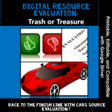 Evaluating Sources, Effective Research Skills: Trash or Treasure, Web Evaluation