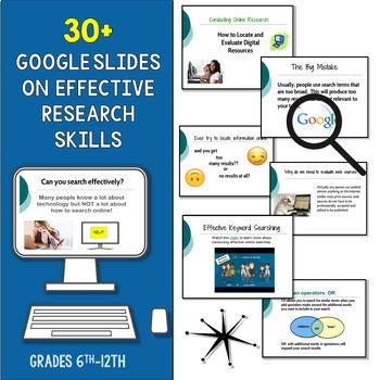 Evaluating Sources, Effective Research Skills: Trash or Treasure, Web Evaluation