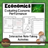 Evaluating Economic Performance -  Interactive Note-taking