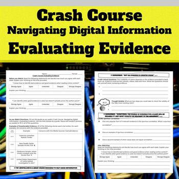 Evaluating Evidence: Crash Course Video Guide
