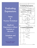 Evaluating Expresions