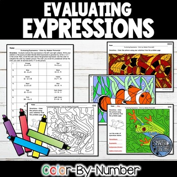 Order of Operations - Evaluating Expressions
