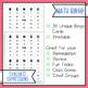 Evaluating Expressions BINGO Math Game