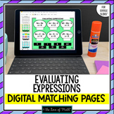 Evaluating Expressions Digital Activity Google Slides™ Dis