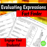 Evaluating Expressions Fact Finder