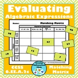 Evaluating Expressions Matching Matrix