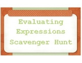 Evaluating Expressions Scavenger Hunt
