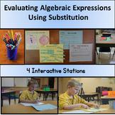 Evaluating Algebraic Expressions Using Substitution