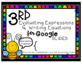 Evaluating Expressions and Writing Equations Google Intera