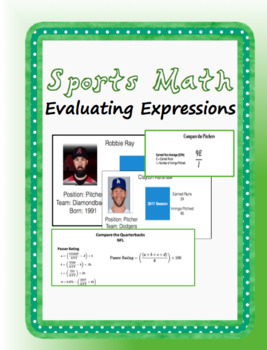 Evaluating Expressions using Sports