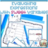 Evaluating Expressions with Variables: Differentiated Practice