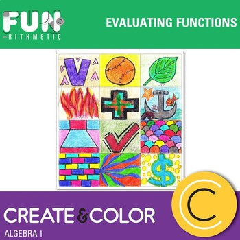 Evaluating Functions Create and Color