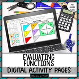 Evaluating Functions Digital Activity Pages for Google Drive™