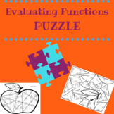 Evaluating Functions Puzzle