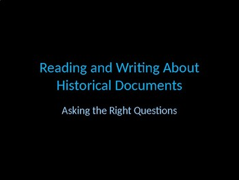 Evaluating Historical Documents