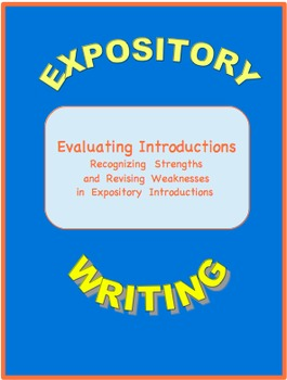 Evaluating Expository Introductions