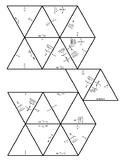 Evaluating Inverse Trig Functions Diamond Puzzle