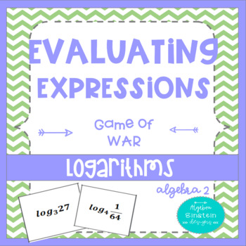 Logarithms - Evaluating Expression Game of War