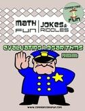 Evaluating Logarithms - Fun Joke Worksheet