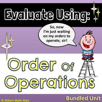 Order of Operations - (Mini Bundle)