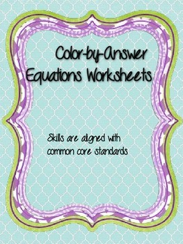 Evaluating One-Step Equations
