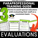 Evaluating Paraprofessionals