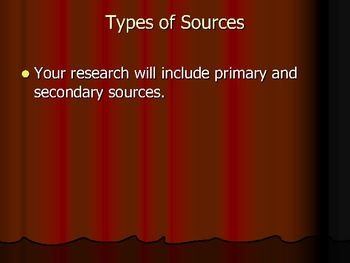 Evaluating Research Paper Sources