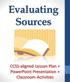 Evaluating Sources for Credibility Lesson Plan with PowerP