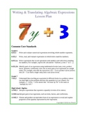 Evaluating, Translating, & Simplifying Expressions Unit Plan