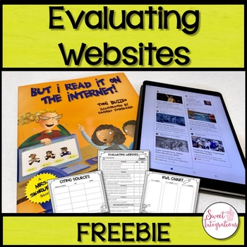 Evaluating Websites: But I Read it on the Internet! Book Companion