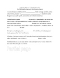 Evaluating Websites & Information - Student Notes