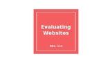 Evaluating Websites Lesson Plan