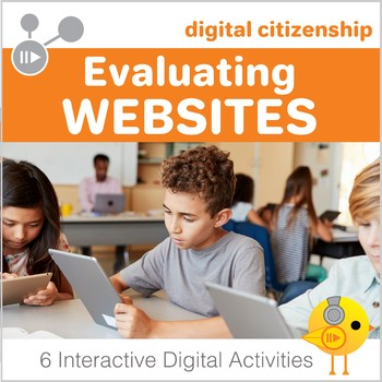 Digital Citizenship: Evaluating Websites Digital Interactive Notebook