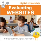 Digital Citizenship: Evaluating Websites Digital Interacti