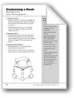 Evaluating a Book: Book Report Form