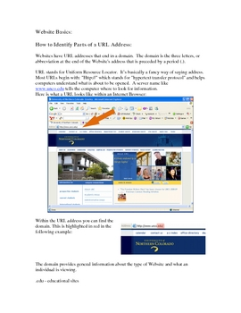 Evaluating a Website's Usability: Self Paced Lesson