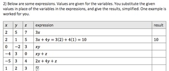Evaluating and Simplifying Exponential and Polynomial Expressions (EE1)